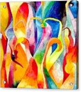 Magical Swans Acrylic Print