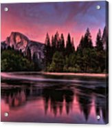 Magical Yosemite Acrylic Print