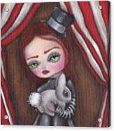 Magician Girl Acrylic Print
