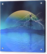 Magnetic Flux Acrylic Print by Corey Ford
