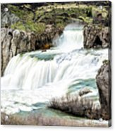 Magnificence Of Shoshone Falls Acrylic Print