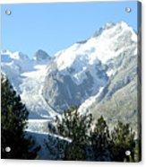 Magnificent Swiss Glacier Acrylic Print