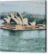 Magnificent Sydney Opera House Acrylic Print