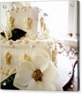 Magnolia Cake Three Acrylic Print