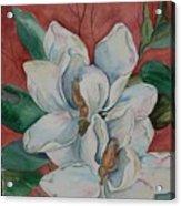 Magnolia Five Acrylic Print