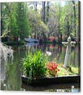 Magnolia Gardens In Charleston Acrylic Print