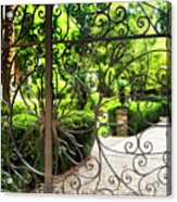 Magnolia Gate Acrylic Print