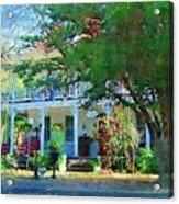 Magnolia Inn Acrylic Print