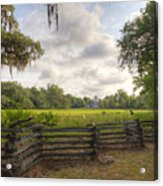 Magnolia Plantation South Carolina Acrylic Print
