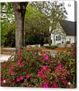 Magnolia Springs Alabama Church Acrylic Print