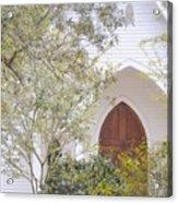 Magnolia Springs Church Acrylic Print