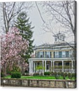 Magnolia Time Acrylic Print