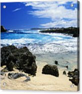 Mahaulepu Koloa Beach Acrylic Print