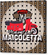 Maicoletta Scooter Advertising Acrylic Print