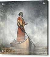 Maid Of The Mists Acrylic Print