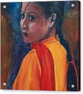 Maiden Of Color Acrylic Print