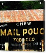 Mail Pouch Acrylic Print