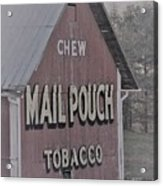 Mail Pouch Special 2 Acrylic Print