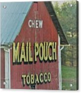 Mail Pouch Special Acrylic Print