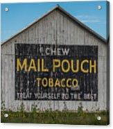 Mail Pouch Tobacco Barn Acrylic Print