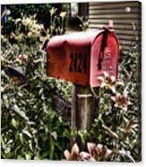 Mailbox Deux Acrylic Print