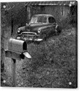Mailboxcar Acrylic Print