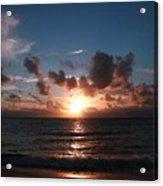 Ma'ili Sunset Acrylic Print
