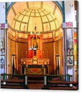 Main Altar Sacre Couer  Acrylic Print