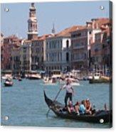 Main Canal Venice Italy Acrylic Print