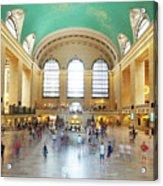 Main Hall Grand Central Terminal, New York Acrylic Print