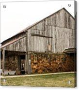 Main Part Of Amana Farmer's Market Barn Amana Ia Acrylic Print