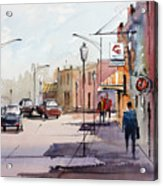 Main Street - Wautoma Acrylic Print