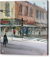 Main Street Marketplace - Waupaca Acrylic Print