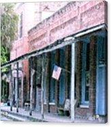 Main Street Micanopy Florida Acrylic Print