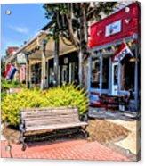 Main Street Mount Joy Acrylic Print