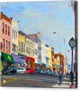 Main Street Nayck  Ny  Acrylic Print