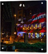 Main Street Station At Night Acrylic Print