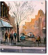 Main Street - Steven's Point Acrylic Print