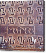 Mainca Landscape Acrylic Print
