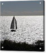 maine 44 Sailboat Acrylic Print