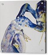 Maine Blue Lobster Acrylic Print