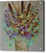 Maine Bouquet Acrylic Print by Collette Hurst