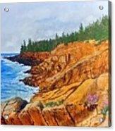 Maine Coast Acadia National Park Acrylic Print