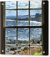 Maine Coast Picture Frame Acrylic Print