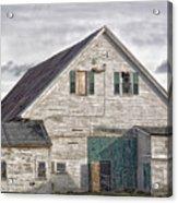 Maine Farm Barn Acrylic Print