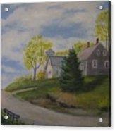Maine House Acrylic Print