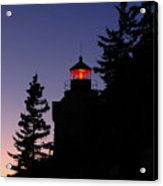 Maine Lighthouse Acrylic Print