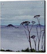 Maine Moody Distance Acrylic Print