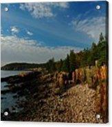 Maine Rocky Coast Acrylic Print
