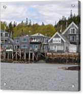 Maine Village Acrylic Print